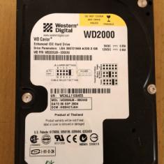HDD PC Western Digital 200Gb IDE - Hard Disk Western Digital, 200-499 GB, Rotatii: 7200