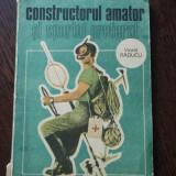 CONSTRUCTORUL AMATOR SI SPORTUL PREFERAT - VIOREL RADUCU
