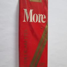 RAR! PACHET NOU COLECTIE TIGARI MORE 120 SUPERLONG ANII 80 - Pachet tigari