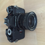 Aparat Foto cu Film Seagull, SLR, Mediu - Aparat foto cu film Revueflex cu obiectiv Berolina Westromat 1:2.8/35