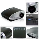 Videoproiector - Video mini Proiector LED&LCD 480*320P USB/VGA/HDMI Input, cu difuzor