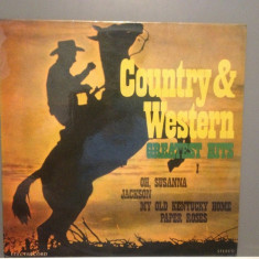 COUNTRY & WESTERN - GR. HITS 1 (EDE 01784/ELECTRECORD ) - VINIL stare PERFECTA - Muzica Country