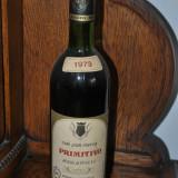 STICLA DE VIN VECHI DE COLECTIE AN 1973 PRIMITIVO ROSSO DI PUGLIA - Vinde Colectie, Aroma: Sec, Sortiment: Alb, Zona: Europa