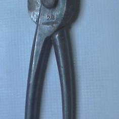 O foarfeca de tabla din anii 40 foarfeca metal