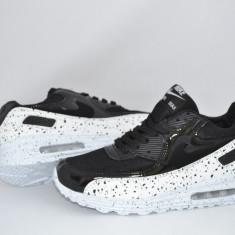 Nike Air Max-picatele - Adidasi barbati Nike, Marime: 36, 37, 38, 39, 40, 41, 42, 43, 44, Culoare: Negru, Piele sintetica