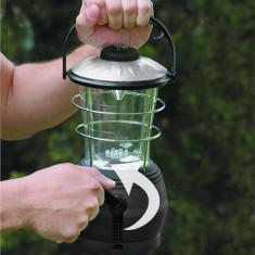 Lanterna Camping cu Dinam (12 LEDuri)