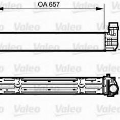 Intercooler, compresor RENAULT MEGANE III hatchback 2.0 dCi - VALEO 818869 - Intercooler turbo