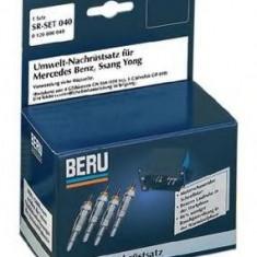 Set adaptare, bujie incandescenta rapida MERCEDES-BENZ 190 limuzina D - BERU SR040 - ECU auto