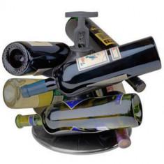 Suport Pentru Sticle de Vin Carousel