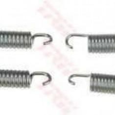 Set accesorii, saboti frana parcare MERCEDES-BENZ SPRINTER 3, 5-t caroserie 319 CDI / BlueTEC 4x4 - TRW SFK416 - Saboti Frana de Mana