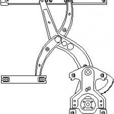 Mecanism actionare geam VW PASSAT 1.6 - TOPRAN 103 590 - Macara geam