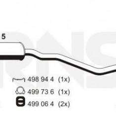 Toba esapament primara OPEL KADETT E combi 1.4 i - ERNST 032155 - Toba finala auto