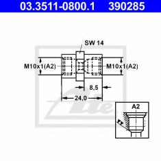 Adaptor, conducte frana - ATE 03.3511-0800.1