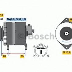 Generator / Alternator OPEL VECTRA A 1.7 TD - BOSCH 0 986 041 771 - Alternator auto