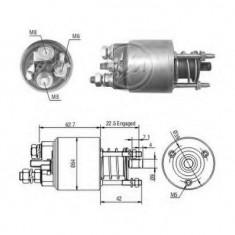 Solenoid, electromotor FIAT PANDA Van 750 - ERA 227306