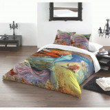 Set lenjerie de pat din bumbac Zâna primăverii 220x230
