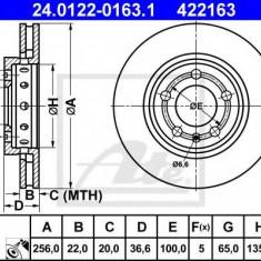 Disc frana VW GOLF Mk IV 1.9 TDI - ATE 24.0122-0163.1 - Discuri frana REINZ