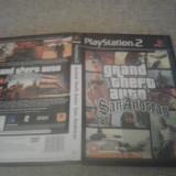 Grand Theft Auto - San Andreas GTA - PS2 - Jocuri PS2, Actiune, 3+, Multiplayer