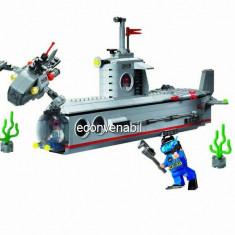 Joc tip Lego Submarin cu 4 Soldati Combat Zones 816 - LEGO Pirates