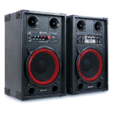 Skytec SPB-10 25cm (10) set de boxe activ/pasiv 600W
