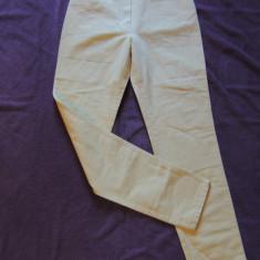 Pantaloni dama MISSONI SPORT, mas. S, Marime: Alta, Culoare: Galben, Lungi, Bumbac