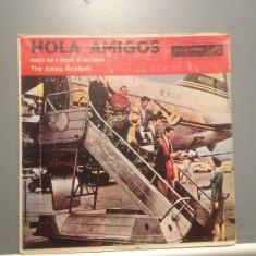 THE AMES BROTHERS - HOLA AMIGOS (LPD-533/RCA VICTOR/CUBA) - Vinil/stare F. BUNA - Muzica Latino rca records