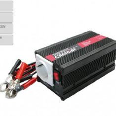 Invertor de tensiune auto Carpoint 24V-230V 300W-900W 50Hz cu protectii la supra-sarcina baterie descarcata supravoltaj scurt-circuit - Invertor Auto