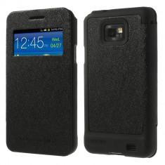 Husa Samsung Galaxy S2 i9100 Mercury GOOSPERY Wow Bumper Neagra / Black - Husa Telefon