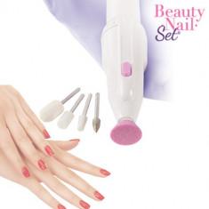Set Burghiu Manichiură Beauty Nail
