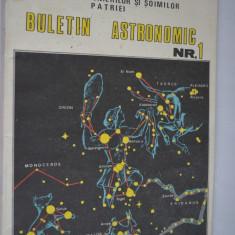 Buletin astronomic Nr. 1 - 1986 - Carte Astronomie