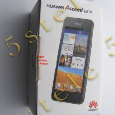 Telefon Huawei Ascend G510 (868038013193959)Negru Swap, Nu se aplica, Neblocat, Dual core
