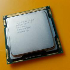 Procesor Quad Intel Core i7-860, 2, 80Ghz-Turbo 3, 46Ghz, Socket 1156 - Procesor PC Intel, Numar nuclee: 4, Peste 3.0 GHz