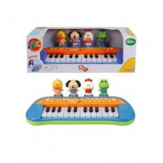 Orga muzicala 34 cm cu animalute Simba - Instrumente muzicale copii