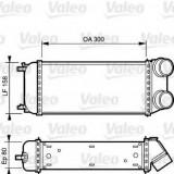 Intercooler, compresor PEUGEOT 206 hatchback 1.6 HDi 110 - VALEO 818822