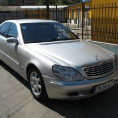 Mercedes S400, An Fabricatie: 2001, Motorina/Diesel, 317000 km, 3998 cmc