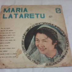 DISC VINIL MARIA LATARETU DOR DE MAMA EPE 0538 - Muzica Populara