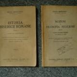 Istoria Bisericii Romane si Notiuni de Filosofia Religiunii/ Irineu Mihalcescu - Carti Istoria bisericii