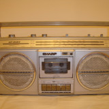 Radiocasetofon Sharp GF 6464 H defect
