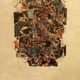 TABLOU, NATALIA DUMITRESCU, COMPOZITIE ABSTRACTA, LITOGRAFIE - Pictor roman