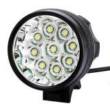 LPC-B09 - Lanterna frontala / far bicicleta 9x CREE XM-L T6