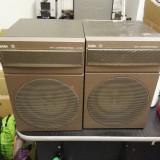 Boxe vintage Saba B7300 30 Watt 4 Ohm