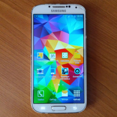 Samsung Galaxy S4, cu soft de S5 + inca unu de piese, gratis - Telefon mobil Samsung Galaxy S4, Alb, 16GB, Neblocat, Single SIM