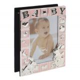 Album foto roz Baby 10x15 cm
