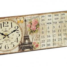 Ceas de masa cu calendar Paris