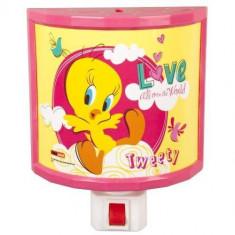 LAMPA DE VEGHE TWEETY-60600 - Lampa veghe copii