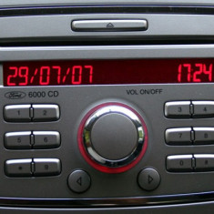 CD 6000 Ford 3 up 2008 Stare Perfecta - CD Player MP3 auto Blaupunkt