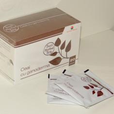 Ceai negru cu Ganoderma Sun Herbal Tea 20 plicuri - PRODUS SIGILAT ORIGINAL - Ceai naturist