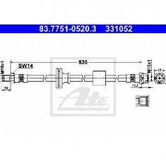 Furtun frana BMW X3 E83 PRODUCATOR ATE 83.7751-0520.3
