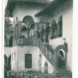 2655 - Valcea, HOREZU Monastery - old postcard, real PHOTO - unused - 1938 - Carte Postala Oltenia dupa 1918, Necirculata, Printata