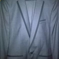 Castum Moda Aliss 46.Nou - Costum barbati, Culoare: Gri